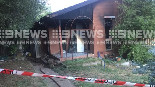 The house has been completely gutted by the blaze. (Picture: Christine Ahern)
