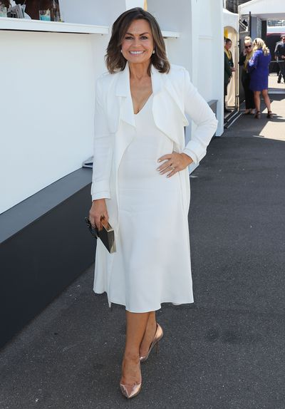 <p>No. 6 Trench warfare</p> <p><em>Today </em>show host Lisa Wilkinson delivers sleek chic in a Celine dress with a Camilla and Marc trenchcoat.&nbsp;</p>