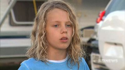 Young boy rescued using snorkel after being 'buried alive' at beach