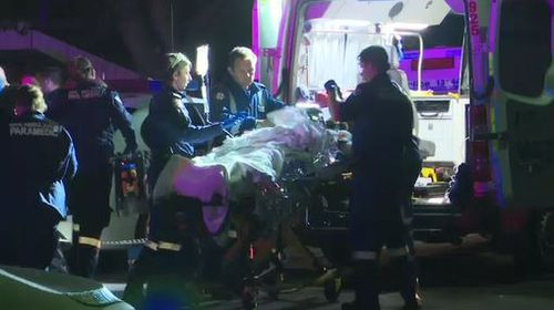 Police slammed the assault, labelling it as cowardly and callous. Picture: 9NEWS.