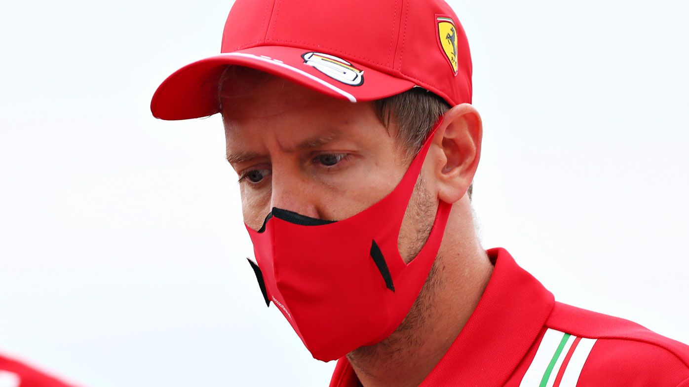 Sebastian Vettel confirms he's in talks with Racing Point.