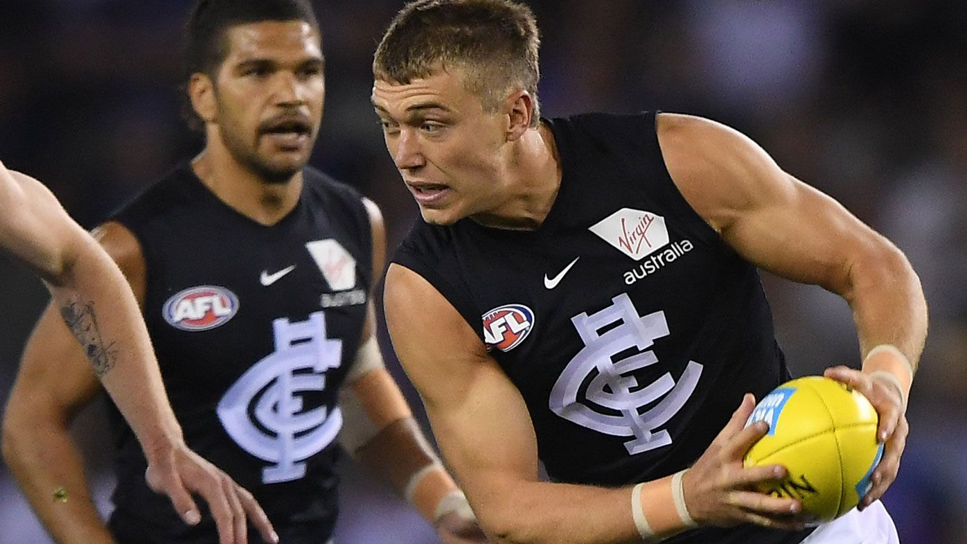 Carlton 'warrior' Patrick Cripps at grave risk of burnout, says Mick Malthouse