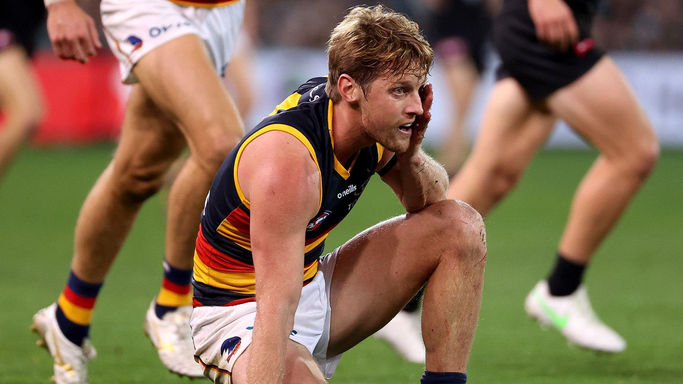 Adelaide fearing captain Rory Sloane's season is done following finger injury in loss to Carlton