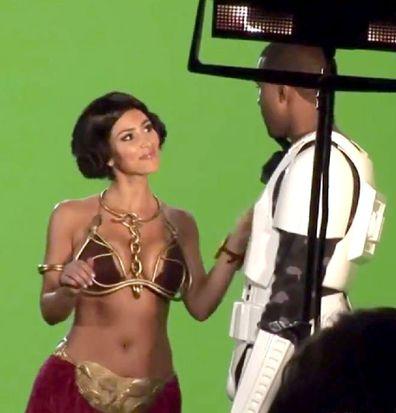 Kim Kardashian, Kanye West, relationship timeline, TV pilot, Star Wars