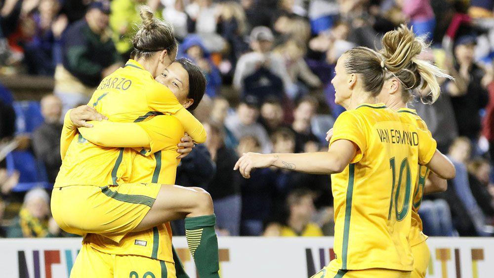 Matildas embrace 'tough' Asian Cup foes