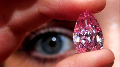 Ultra-rare pink diamond