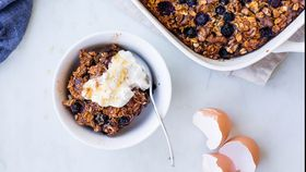 Coconut Blueberry Baked Oats recipe