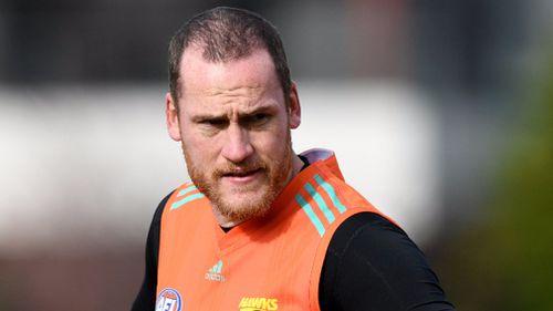 Hawthorn captain Jarryd Roughead is preparing to make a triumphant return to AFL. (AAP)