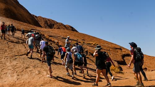 Final ULuru climb