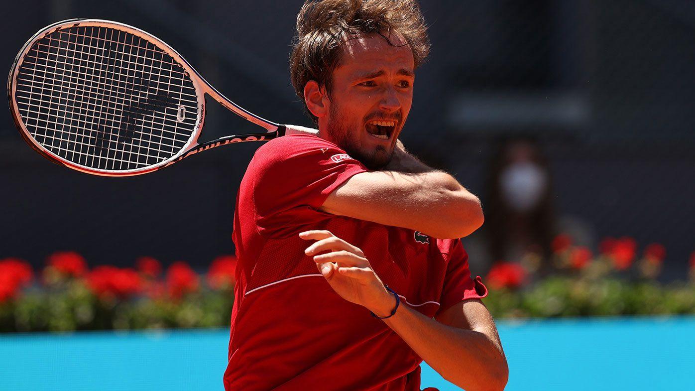 World No.2 Daniil Medvedev's struggles on clay continue.