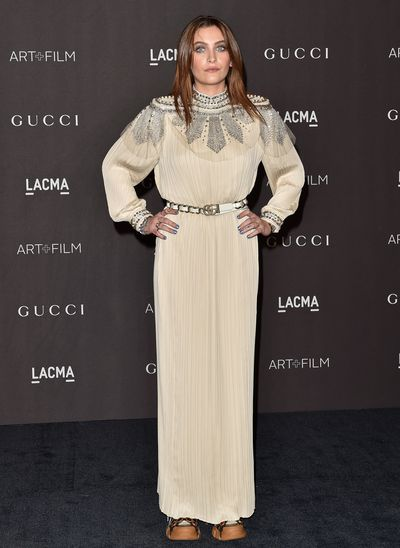 Singer and model Paris Jackson at the 2018 LACMA Art + Film Gala in Los Angeles, November, 2018