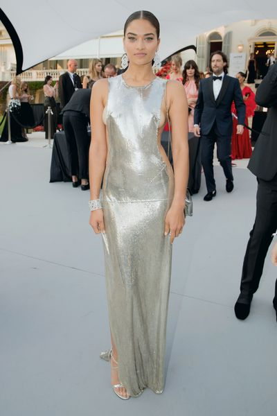 Shanina Shaik at the amfAR Gala, Cannes 2017