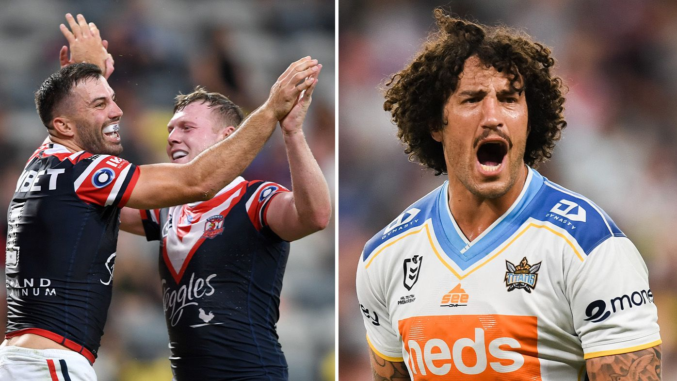 Contentious penalty in Roosters-Titans do-or-die final paves way for polarising Tricolours four-pointer