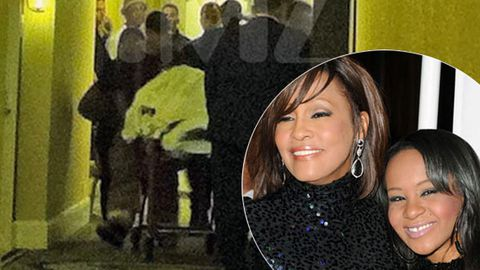 Report: Photo of Whitney Houston's 'dead body' was actually her daughter  Bobbi Kristina - 9Celebrity