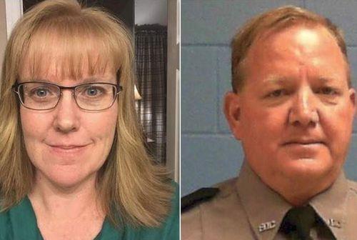 Deputy Julie Bridges and correctional officer Joseph Ossman.