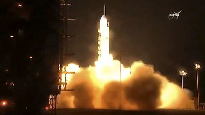 NASA launches weather satellite to help forecast fire and flood