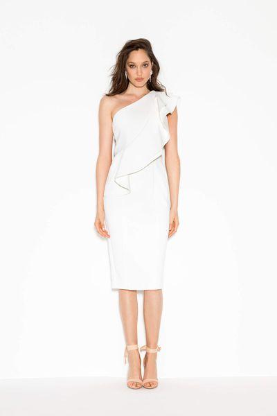 """<p><a href=""""https://www.sheike.com.au/freefall-dress-ivory"""" target=""""_blank"""" draggable=""""false"""">Sheike Freefall Dress in Ivory, $169.95</a></p>"""