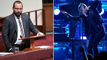 Senator Ricky Muir tentatively farewells politics with Radiohead post