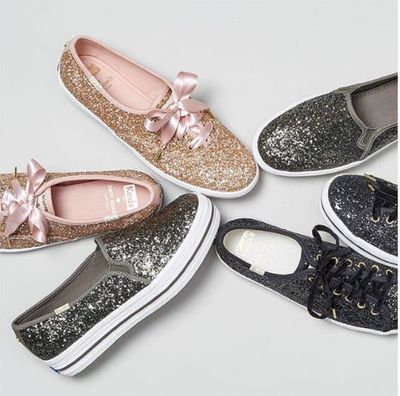 <p>It's an old-fashioned fashion mantra to think that you need to fork out a fortune to have fabulous footwear on your big day.</p> <p>Luxury label Kate Spade has teamed up with sneakers brand Keds to launch 'Kate Spade X Keds-Perfect Pair', a range of sneakers designed to walk brides comfortably down the aisle.<br /> <br /> Brides-to-be can choose from 31 different types of sneakers that are designed to be paired with any gown by Wang, De La Renta or Lhuillier.<br /> <br /> From glitter-based kicks to embellished trainers, the fanciful footwear range offers the perfect mix of comfort and cool and won't result in blistered feet by the end of your bridal waltz. <br /> <br /> No word yet on whether the range will be available anytime soon in Australia but until then we have selected ten wedding day – worthy sneakers. <br /> <br /> Click through to find one that's right for you.</p>