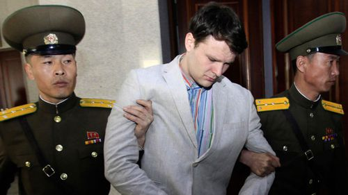 Otto Warmbier died after spending 17 months detained in North Korea. (AAP)