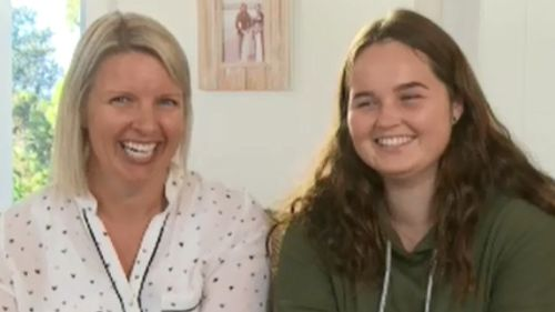 Jessica and her mother Vanessa were all smiles as they spoke to the TODAY Show this morning. (TODAY Show)