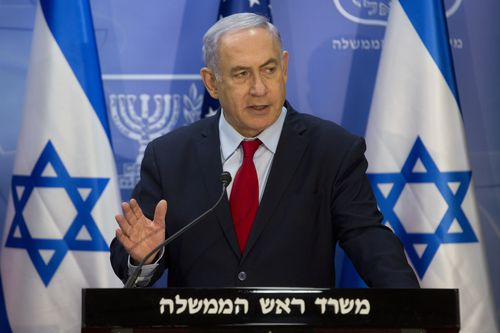 Israeli Prime Minister Benjamin Netanyahu cut a meeting with US diplomats short when news broke of the missile attack in Israel.
