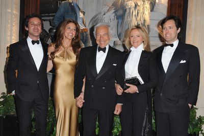 <p>The Laurens- Ralph Lauren</p> <p>Former tie manufacturer Ralph Lauren made his foray into the fashion world selling men's ties at at the age of 26 in 1967. Fast-forward 50 years and it's hard to think of a brand more synonymous with luxury menswear than Ralph Lauren.</p> <p>The designer stepped down as CEO of the Ralph Lauren Corporation which produces apparel, homewear and accessories in September 2015 but he remains as executive chairman and chief creative officer.</p> <p>Lauren's son David also has a hand in the business as executive vice president of global advertising, marketing, and communications at&nbsp;Ralph Lauren Corporation.&nbsp;</p>