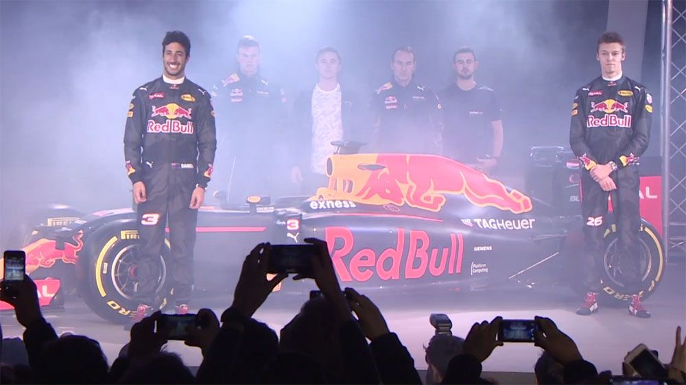Bittersweet F1 launch for Ricciardo