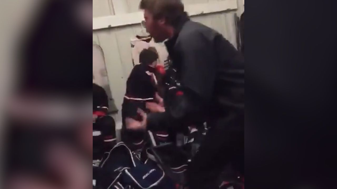 Coach gives foul-mouthed rant