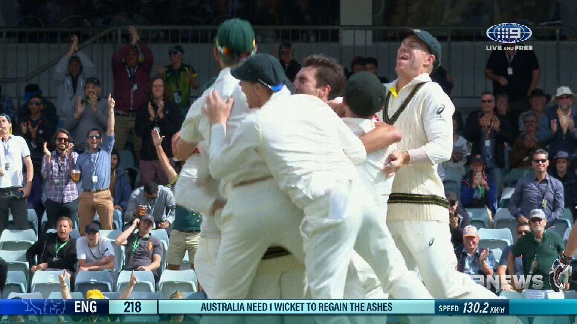 Australia win third Test to reclaim Ashes