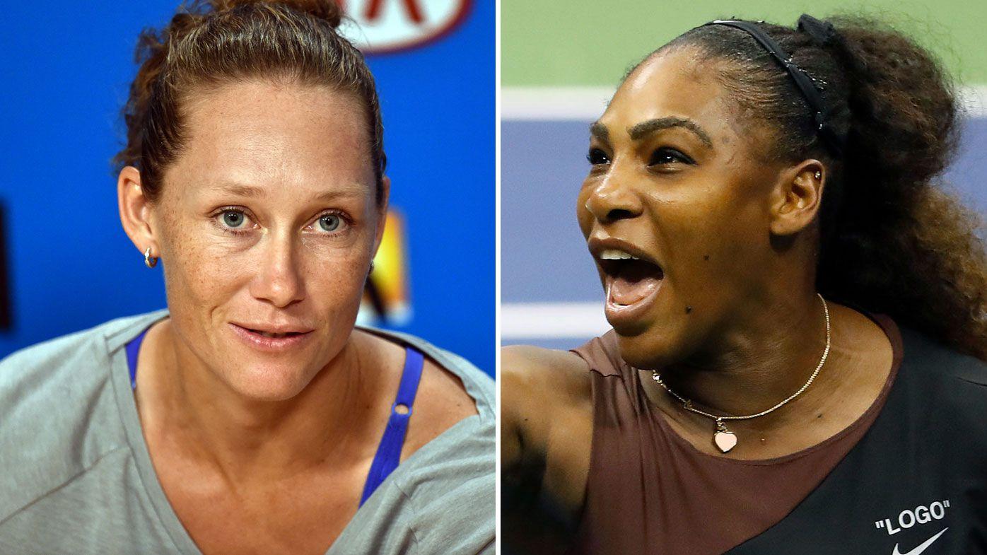 Tennis: Sam Stosur serves it straight to Serena Williams over US Open meltdown