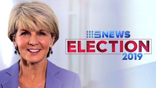 Julie Bishop, the former foreign minister and deputy leader of the Liberal Party, will be part of Nine's election coverage on May 18.