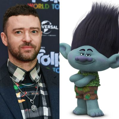 Justin Timberlake as Branch in Trolls