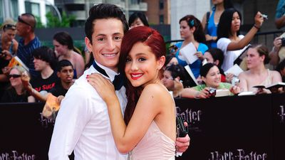 Ariana Grande's brother Frankie Grande