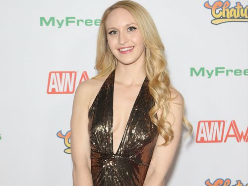 Fellow adult film actor Ginger Banks last year released a video outlining several previous allegations against Jeremy from fans and industry peers, which he has denied. (Getty Images)