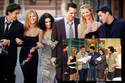 In what happens to be some of the worst timing ever, Cox fell pregnant after her character Monica found out she only had a very slim chance of ever falling pregnant. Her ignored pregnancy was one of the most inadvertently funny parts of the finale.