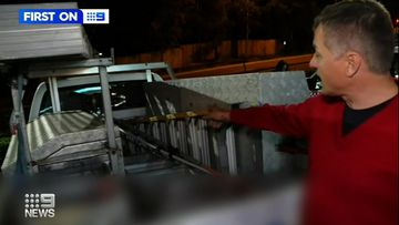 Gold Coast tradie rescues 'stolen' tools.
