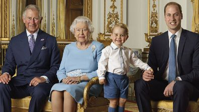 Queen Elizabeth and Prince Charles shared birthday messages for Prince George's birthday on Twitter.