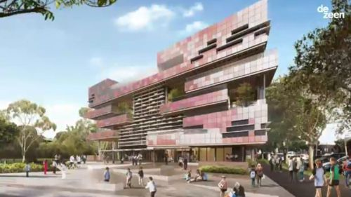 An artist's impression of the innovative school. (9NEWS)