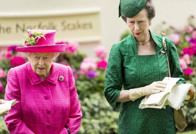 Queen Elizabeth II and Anne, Princess Royal at Royal Ascot 2017