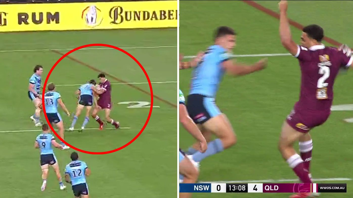 Bombshell hits NSW as Cleary faces potential suspension for shoulder charge
