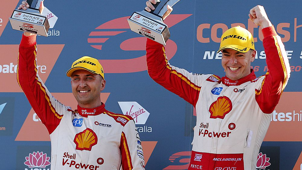 Scott McLaughlin poised to claim Supercars championship title in Newcastle