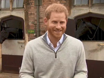 Prince Harry birth announcement.