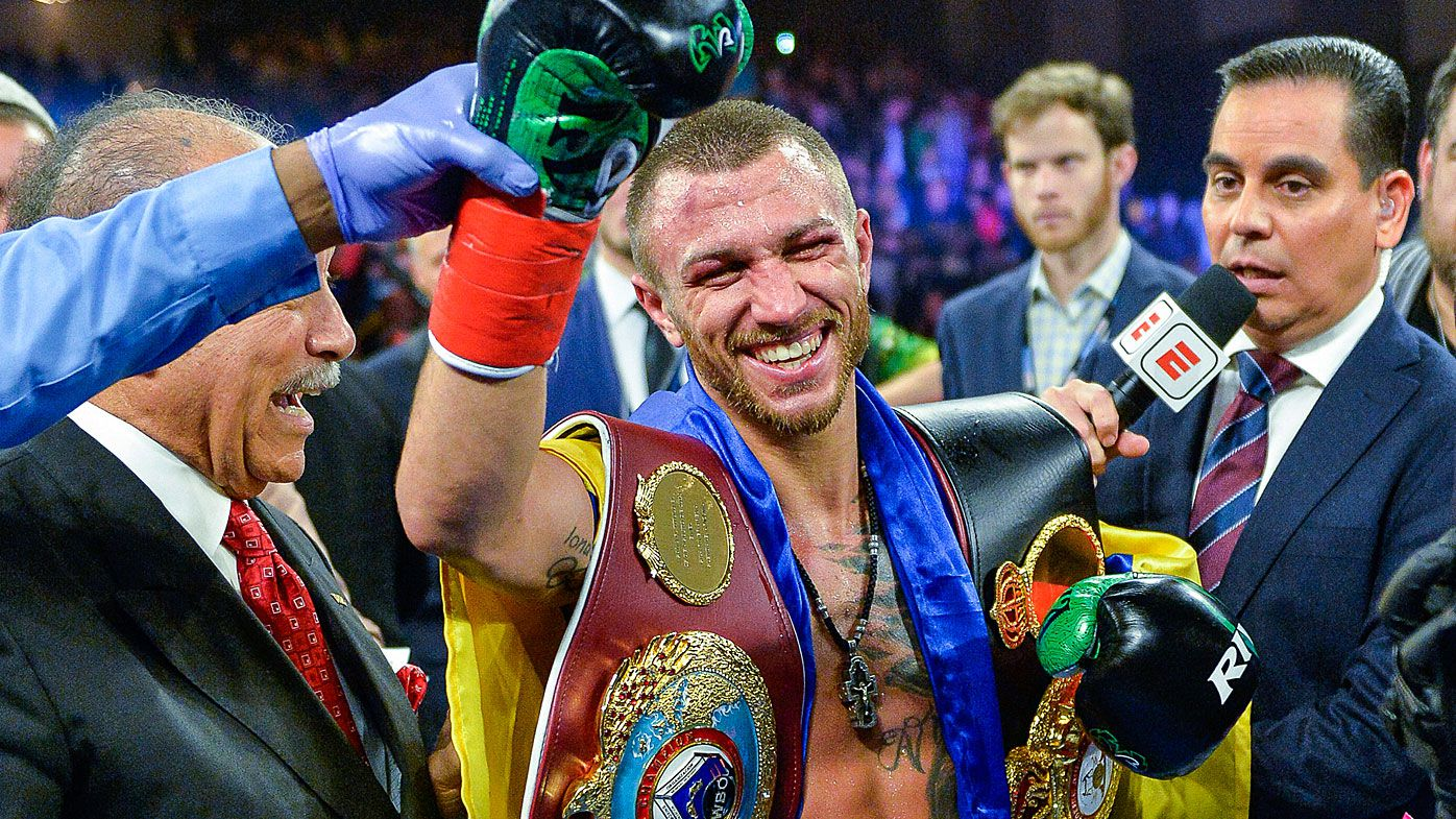Vasyl Lomachenko defeats Jose Pedraza to claim WBO lightweight title