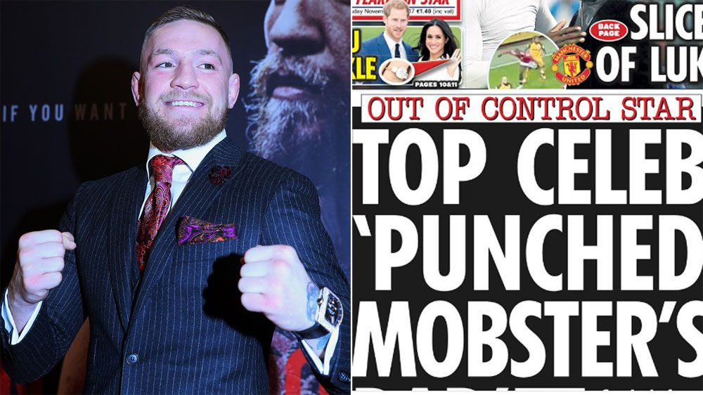 UFC star Conor McGregor allegedly involved in barroom brawl with Irish mafia figures