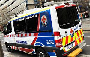 Elderly man suffering neurological episode pulls gun on paramedics