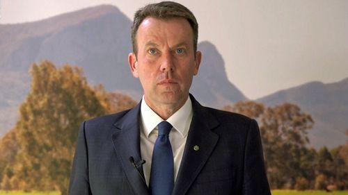 Federal Education Minister Dan Tehan.