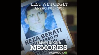 Iranian asylum seeker Reza Berati who died during a riot on Manus Island.