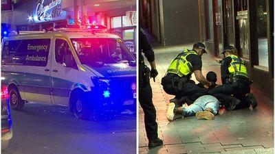 Man charged after violent Hindley Street assault
