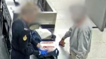 The Indian man was questioned by police upon his arrival into Perth.